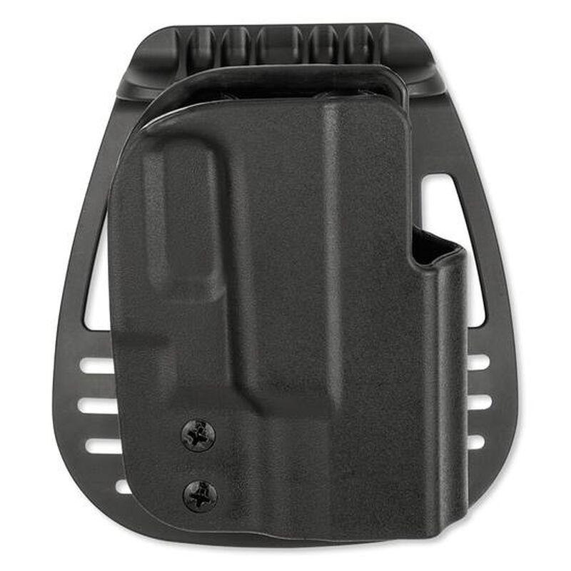 Uncle Mike's Kydex Holster GLOCK 26, 27 SIG Paddle Holster Right Hand Kydex Black 5412-1