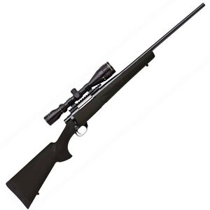 """Legacy Sports International Howa GameKing Package Bolt Action Rifle .243 Win 22"""" Barrel 4 Rounds Hogue Synthetic Stock Nikko Stirling 3.5-10x44 LRX AO Scope Black HGK62107"""