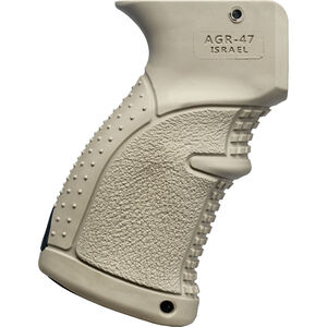 FAB-Defense AK-47 Rubberized Ergonomic Pistol Grip Polymer FDE