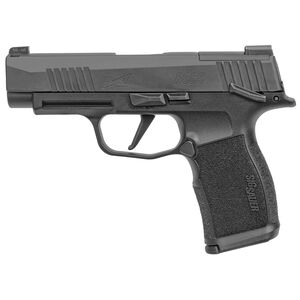 "SIG Sauer P365 XL 9mm Luger Semi Auto Pistol 3.7"" Barrel 12 Rounds Day/Night Sights Optics Ready Manual Safety Polymer Grip Frame Black Finish"