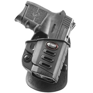 Fobus Evolution Holster S&W M&P Bodyguard .380 w/Crimson Trace Laser Right Hand Paddle Attachment Polymer Black
