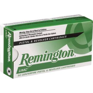 Remington UMC .38 Super+P 130 Grain FMJ 50 Round Box