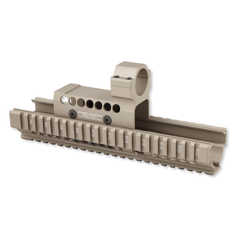 Midwest Industries Extended Handguard and Cover Earth