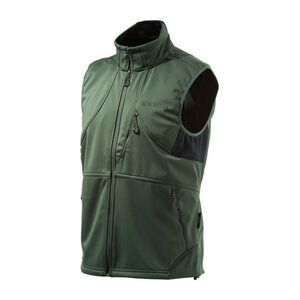 Beretta Men's Soft Shell Fleece Vest Sleeveless Size XX-Large Fleece Green