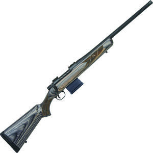"Mossberg MVP Predator 6.5 Creedmoor Bolt Action Rifle 20"" Fluted Threaded Barrel 10 Rounds Laminate Stock Matte Blued"