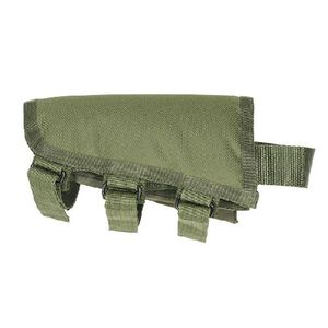Voodoo Tactical Fixed Rifle Stock Cheek Rest Polyester OD Green 20-942204000
