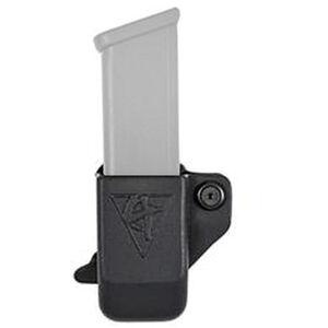 """Comp-Tac Single Pistol Pouch fit GLOCK 48/43X Magazines 1.5"""" Belt Clip Kydex Black"""