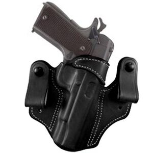 DeSantis 112 1911 Government and Commander Mad Max Inside the Pant Holster Right Hand Leather Black