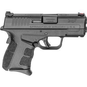 "Springfield Armory XD-S Mod.2 3.3"" Single Stack 9mm Semi Auto Pistol  9 Rounds Black"
