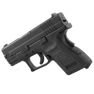 TALON Grips Springfield XD Subcompact 9mm/.40 Rubber Adhesive Grip Black