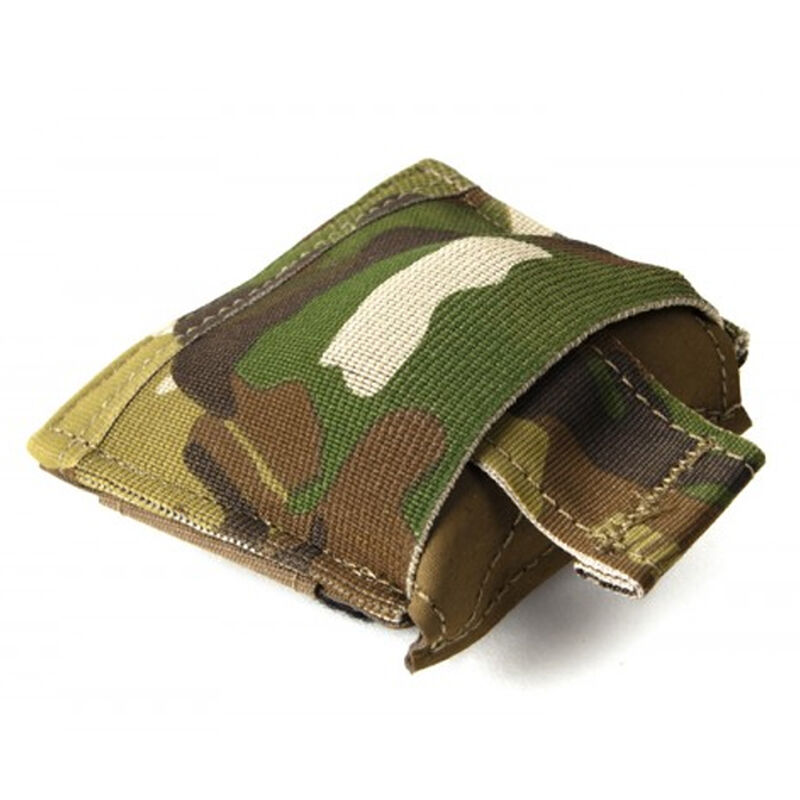 Blue Force Gear Belt Mounted Dump Pouch 70D Ripstop Nylon/ULTRAcomp High Performance Laminate/Ten Speed Mil-Grade Elastic Multicam