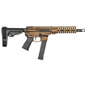 "CMMG Banshee 300 MK10 10mm Auto AR-15 Semi Auto Pistol 8"" Barrel 30 Rounds GLOCK Style Magazine RML7 Free Float M-LOK Hand Guard Cerakote Burnt Bronze"