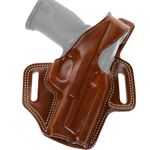 Galco Fletch High Ride S&W M&P Shield 9/40 and 2.0 9/40 Belt Holster Right Hand Leather Tan