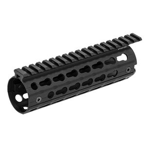 Leapers UTG PRO AR-15 Super Slim Drop In Carbine Length Handguard Keymod Aluminum Black MTU001SSK