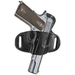 Tagua Extra Protection 1911 Belt Slide Holster Right Hand Leather Black