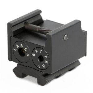 JE Machine 5mV Pistol Square Compact Red Laser Sight