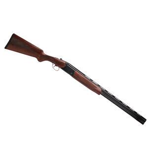 """Dickinson Hunter LT O/U Shotgun 12 Gauge 28"""" Barrel 2 Rounds Wood Stock Blued"""