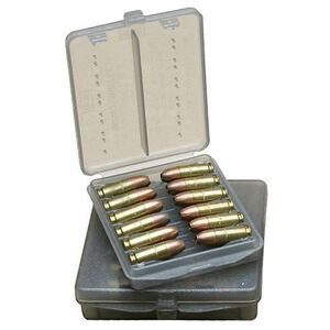 MTM Ammo Wallet .38 Special/.357 Magnum 12 Rounds Polymer Smoke W-12B-38-41