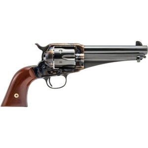 "Cimarron Firearms 1875 Outlaw .44-40 Win Revolver 6 Rounds 5.5"" Barrel Walnut Grips Color Case Hardened/Blued Finish"