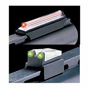 "TRUGLO 3/8"" Magnum Gobble-Dot Xtreme Fiber Optic Shotgun Sights Contrasting Colors Magnetic Mount TG942XB"