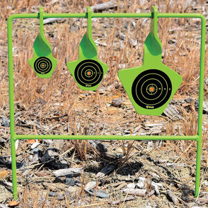 GSM Outdoor/SME Non-Folding Reactive Steel Target .22 Caliber Rimfire Only 3 Floating Targets High Visibility