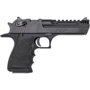 "Magnum Research Desert Eagle Mark XIX L5 .50 AE Semi Auto Handgun 5"" Barrel 7 Rounds Integral Muzzle Brake Weaver Top Rail Synthetic Grips Black"