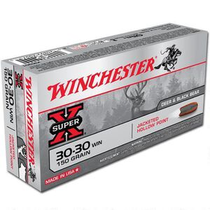 Winchester Super X .300 WSM Ammunition 200 Rounds JSP 150 Grains X300WSM1