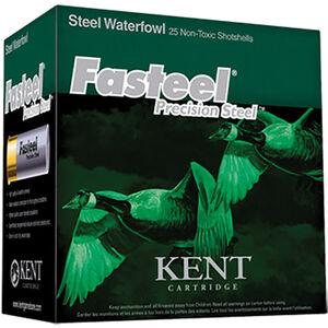 "Kent Cartridge Fasteel Waterfowl 20 Gauge Ammunition 3"" Shell #3 Precision Steel Shot 7/8oz 1550fps"