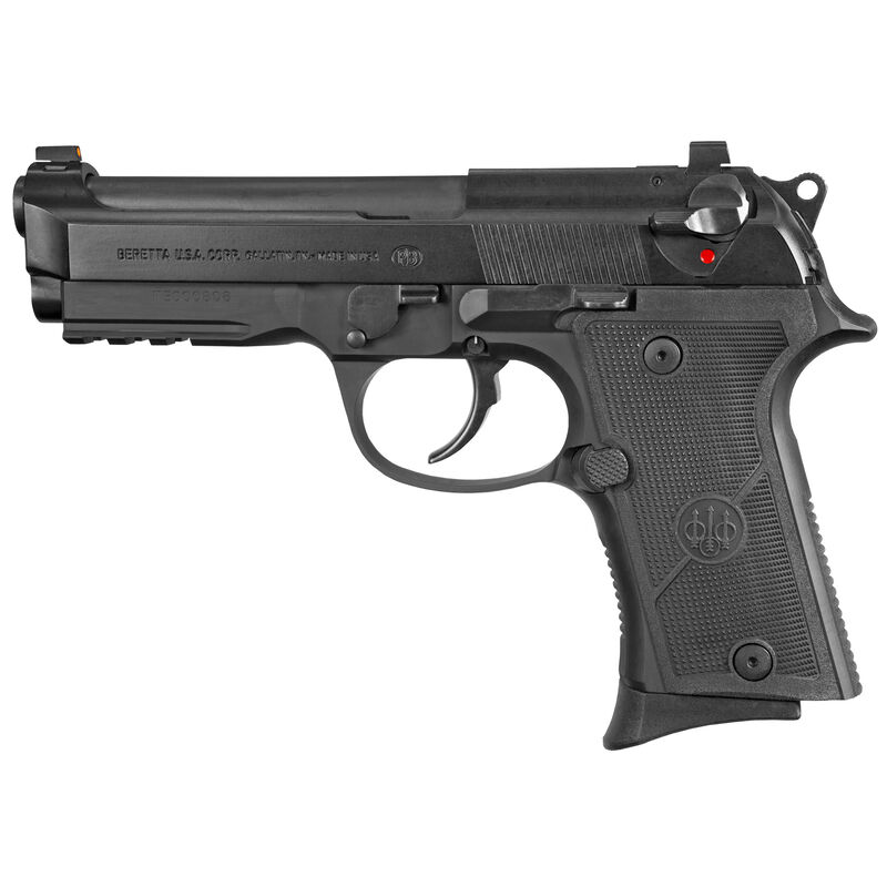 "Beretta 92X GR Compact 9mm Luger 4.25"" Barrel 10 Rounds Accessory Rail Ambi Decock Only Black Finish"