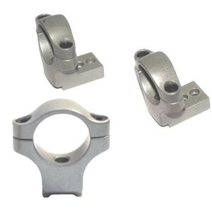"CVA Z2 Alloy Integral Ring/Base System 1"" Medium Silver DS412S"