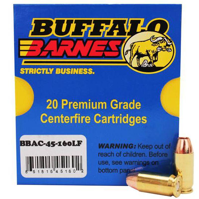 Buffalo Bore .45 ACP +P Ammunition 20 Rounds Barnes TAC-XP 160 Grain 45-160LF/20