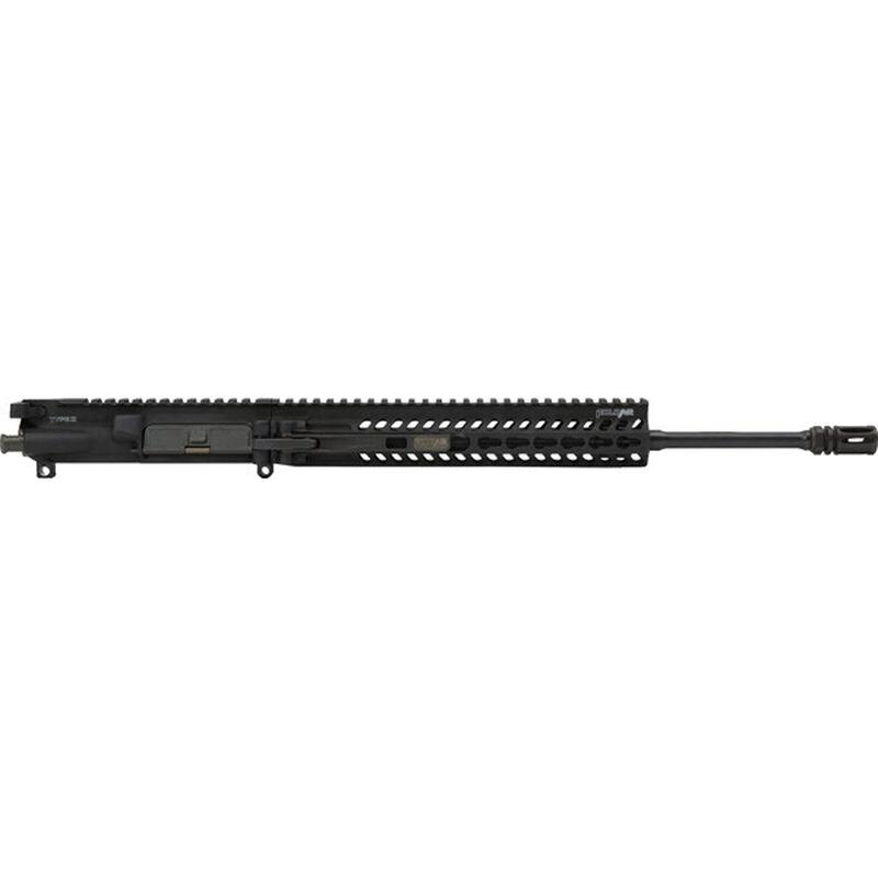 """FoldAR AR-15 Complete Upper Receiver Assembly .223 Wylde 14.5"""" Lightweight Profile Barrel Carbine Length Gas System Free Float Hand Guard Foldable Upper Matte Black Finish"""