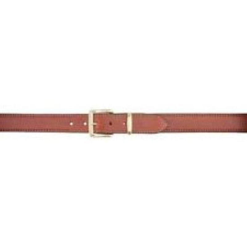Aker Leather PLN Concealed Weapon Gun Belt Leather 42 Inch Waist Tan