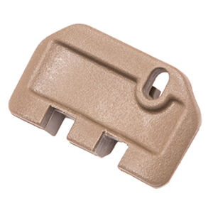 TangoDown Vickers Tactical Slide Racker fits Gen 5 GLOCK 17/19/19x/26/34 Only Stainless Steel/Injection Molded Glass Reinforced Nylon Wing Shape Tan