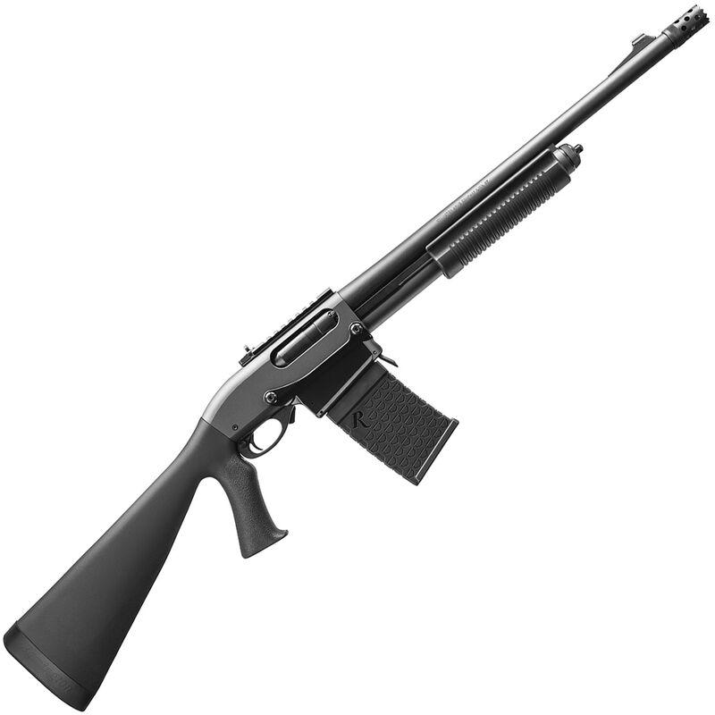 """Remington Model 870 DM Tactical Pump Action Shotgun 12 Gauge 6 Rounds 18.5"""" Barrel 3"""" Detachable Box Magazine Tactical Pistol Grip Stock Matte Blued Finish"""