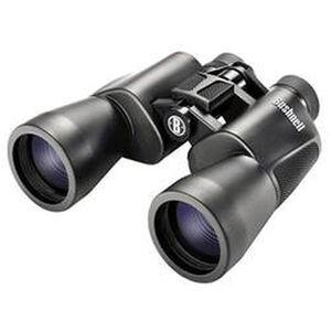 Bushnell Powerview 10x50 Binoculars BK7 Porro Prism InstaFocus Tripod-Adaptable Rubber Armor Black 131056