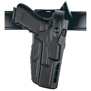 Safariland 7365 Level III Duty Holster for GLOCK 17, 22 Low Ride ALS/SLS 7TS Right Hand Plain Black