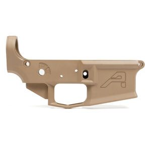 Aero Precision AR-15 M4E1 Stripped Lower Receiver .223/5.56 Billet Aesthetics/Forged 7075-T6 Aluminum Cerakote Magpul Flat Dark Earth Finish
