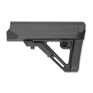 Leapers UTG AR-15 PRO Model 4 Combat Ops S1 Mil-Spec Butt Stock 6 Position Collapsible Polymer Black