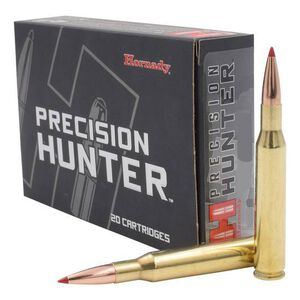 Hornady Precision Hunter .338 Win Mag Ammunition 20 Rounds 230 Grain ELD-X Precision Hunter Polymer Tip Boat Tail 2810fps