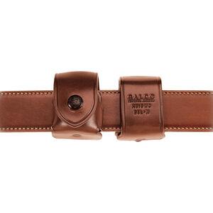 """Galco Belt Speedloader Carrier Ambidextrous Fits HKS 586-A L-Frame .357/.38 Speedloader 1-3/4"""" Belt Leather Tan"""