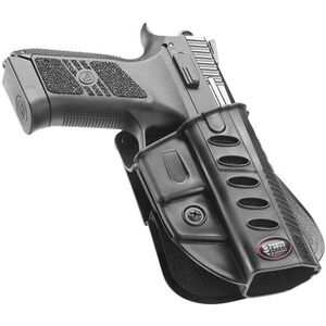 Fobus Evolution Holster CZ P-07 Duty,P-09 Right Hand Paddle Attachment Polymer Black