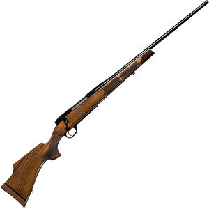 """Weatherby Mark V Camilla Deluxe Bolt Action Rifle .308 Win 24"""" Barrel 5 Rounds Walnut Stock Matte Blued Finish"""