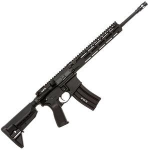 """BCM Recce-14 MCMR-LW Carbine AR-15 5.56 NATO Semi Auto Rifle 14.5"""" Barrel 30 Round Magazine MCMR-10 Free Float Hand Guard Collapsible Stock Matte Black"""