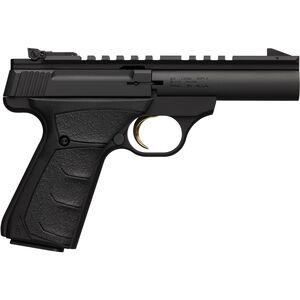 "Browning Buckmark Field/Target Micro Semi Auto Rimfire Pistol .22 LR 4"" Barrel 10 Rounds Aluminum Alloy Frame Ultragrip FX Rubber Overmolded Grips Matte Black"