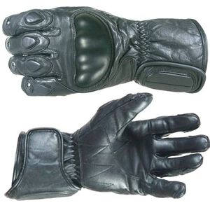 Damascus Protective Gear Vector 1 Riot Control Gloves Leather Black