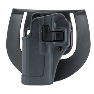 BLACKHAWK! SERPA Sportster Paddle Holster Glock 26/27/33/39 Left Hand Polymer Black 413501BK-L