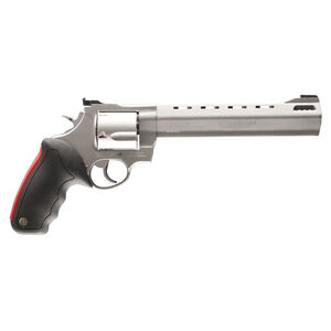 "Taurus Raging Bull 454 Double Action Revolver .454 Casull 8.375"" Ported Barrel 5 Rounds Fixed Front Sight/Adjustable Rear Sight Rubber Grip Matte Stainless Steel Finish"