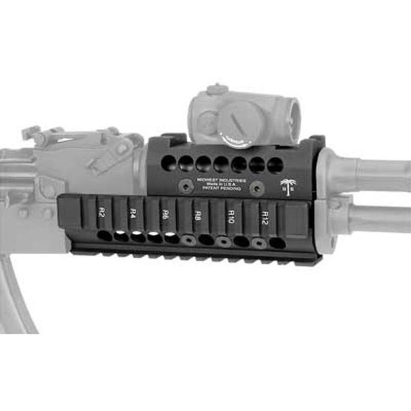 Midwest Industries AK-47 Handguard with Topcover Black