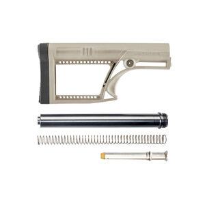 Luth-AR AR-15 MBA-2 Skullaton Stock Assembly A2 Tube .223 Rifle Buffer And Spring Dark Earth MBA-2FK